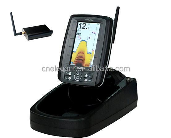 Potable wireless sensor sonar fish finder