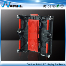 Small Pixels high refresh rate high brightness Super lower price p3.91 p 4.81 p5.95 outdoor rental led display screen