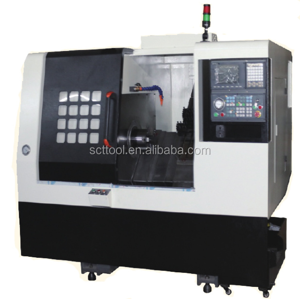 Wheel Polishing Machine Car Alloy Wheel Rim Repair Slant CNC Lathe Machine SCT-120H