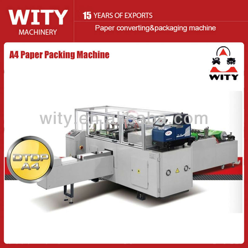 A4 Photocopy Paper Packing Machine