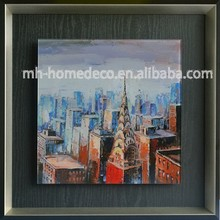 Wholesale Framed City Landscape Paintings For Wall Decor