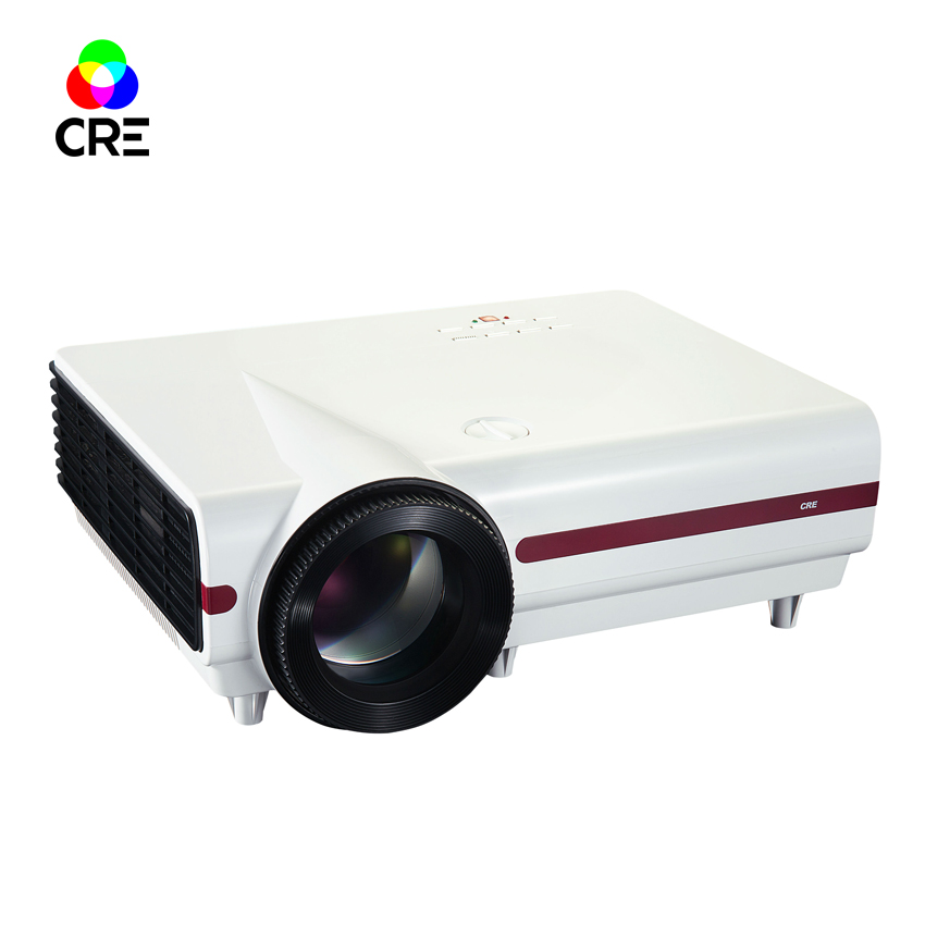 3D Android 4.4 Projector 3500 Lumens Support 1920x1080P TV LED Projector Wifi Projector for Home Cinema