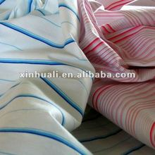 Striped Printed Polyester Taffeta Fabric