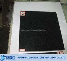 24 x 24 cheap polished china black granite tiles