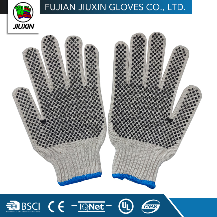 Made In China Hand Breathable Comfortable Skin Color Cotton Gloves
