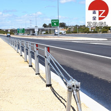 Galvanized Steel Highway Guardrail Barrier Beams for Construction