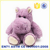 Custom plush animal toys hippo wholesale stuffed plush toy