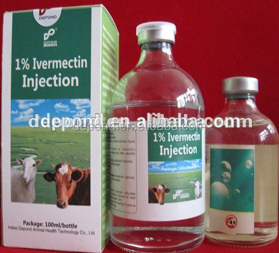 Veterinary medicine 1% Ivermectin Injection for cattle sheep