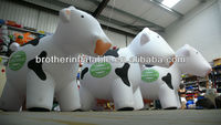 Attractive Custom Animals Inflatable Cow Model