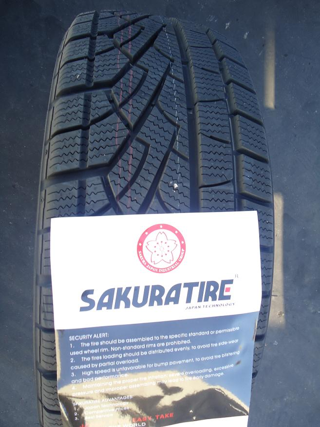 Winter car tires 175/65R14 185/60R14 tire in cars