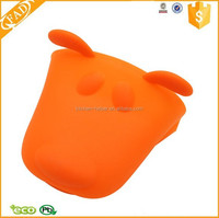Cute Design Dog Animal Shaped Silicone High Temperature Oven Mitt