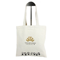 shopping bag factory canvas cotton tote bags with custom printed logo