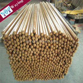 Wholesales 120cm length round wooden broom sticks with pvc cover
