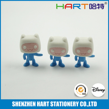 Fancy custom shape rubber eraser for kids