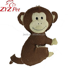 china supplier monkey shape dog cat pet toy