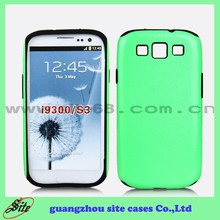 Color Printing Combo Phone Case for samsung i9300 ,wholesale cell phone case for galaxy s3