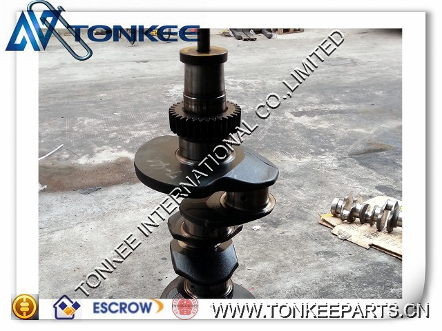 Top quality 4TNV94 engine billet crankshaft forged steel crankshaft