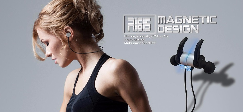 R1615 sport headset auriculares bluetooth headphone wireless stereo music earbuds for mobile handsfree