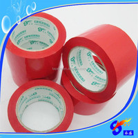 Red heat resistant acrylic adhesive bopp sealing packing tape