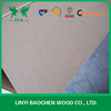 Wood Fiber Material and Indoor Usage plain/raw MDF/HDF board 1220*2440mm