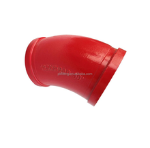 Construction tools and equipment R275 45 degree concrete pump pipe elbow