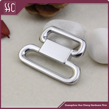quick side release buckle metal chrome buckle