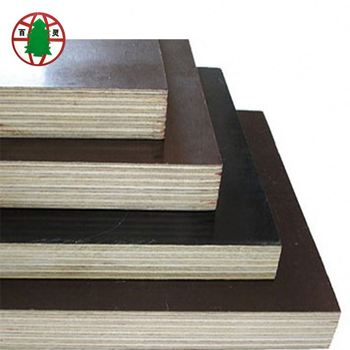 16mm 18mm Thick Film Faced Plywood