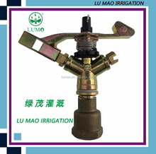1/2 Inch And 3/4 Inch High Pressure Zinc Impact Sprinkler Oscillating Female Threaded Agriculture Zinc Sprinkler