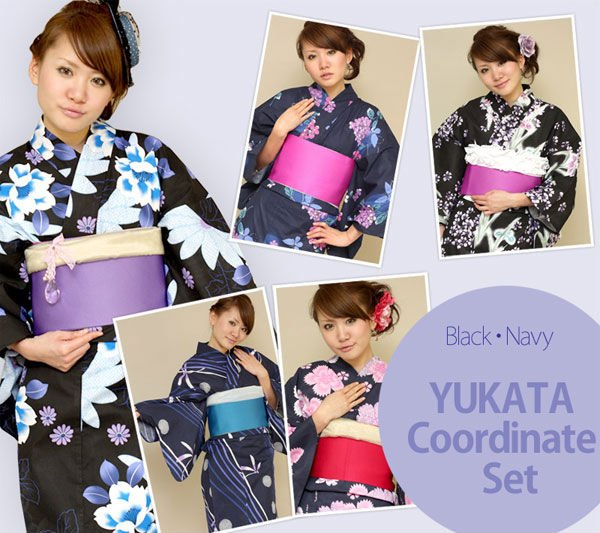 Yukata kimono commonly worn to japanese summer events