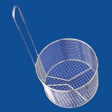 New design round baskets fruit collapsible metal wire new style stainless steel disinfection basket