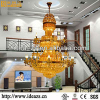 chandelier big hotel color crystal beads equipment indian chandelier