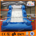 2014 Air blowned inflatable dry water caslte slides