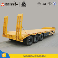 Widely Used Lowbed Semi Trailer Exported