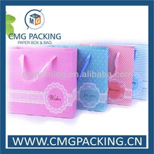 Multi-color high quality garment paper packing bags