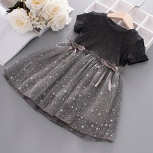 New Arrival Fashion Summer Girl <strong>Dress</strong> Party Birthday wedding princess Girls Clothes baby <strong>girl's</strong> princess <strong>dress</strong>