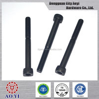 Good quality bottom price anodized bolts motorcycle