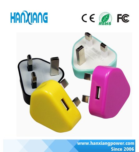 Modern Design Mobile Accessories Phone 1A/2A Single Dual USB Port Wall Charger , Usb Travel wall Charger From China Manufacturer