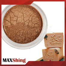 Maxshing cosmetic grade natural mica pigment ,mica powder for soap candle making