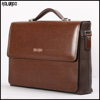 Classical design leather briefcase for men business messenger bag