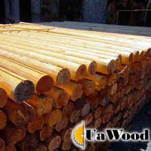 Logs for houses and poles