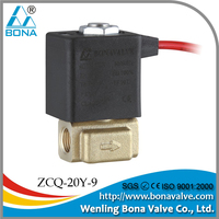 "1/8""Brass Wire Feeder mini welding Machine 36V 42V Air Magnetic Valve ZCQ-20Y-9"