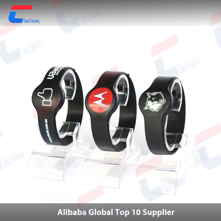 nfc smart band rfid silicone bracelet long range