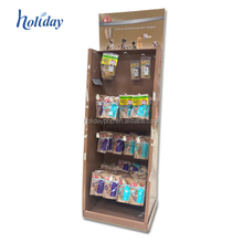 Cardboard Hook Display Stands Toys Display Stand with LCD Screen