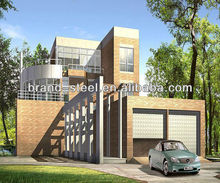 Luxury prefab steel villa/houses