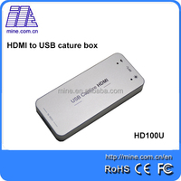 USB Capture HDMI USB 3.0 HDMI Video Capture for Linux, Windows, Mac 1080P 60fps HD100U