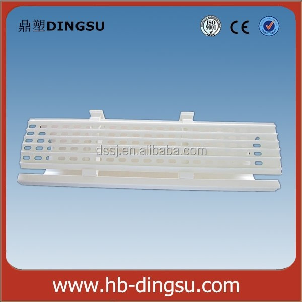 Top seller in Africa PVC/plastic white square leaf guard
