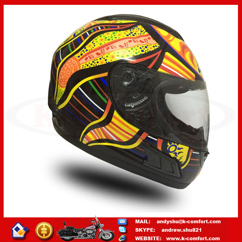 H1KC24 High quality Factory supply best Motorcycle helmet Scooter full face helmet for sale