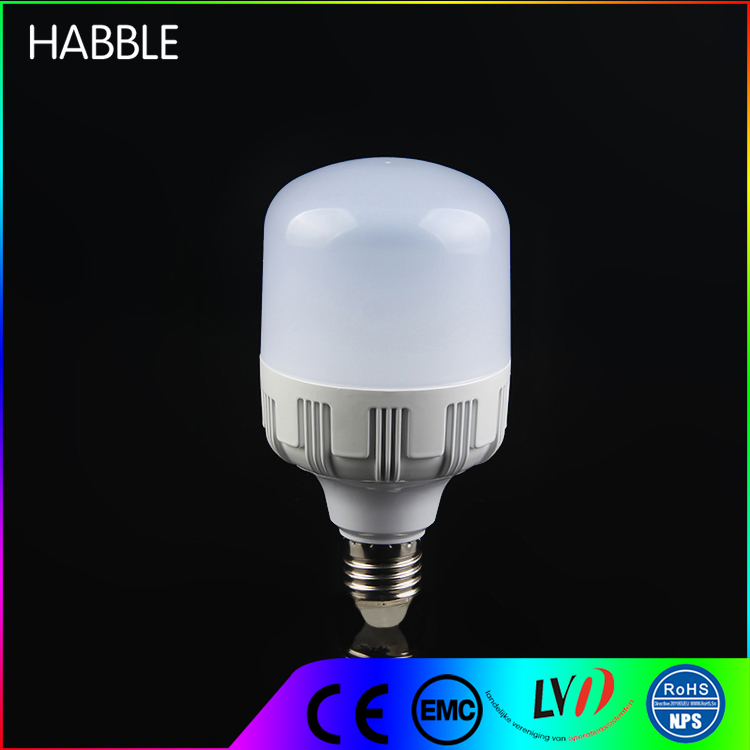 High power cylindrical lamp led lights home 20w led bulb