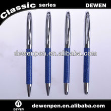 Pens with rubber stamp metal barrel