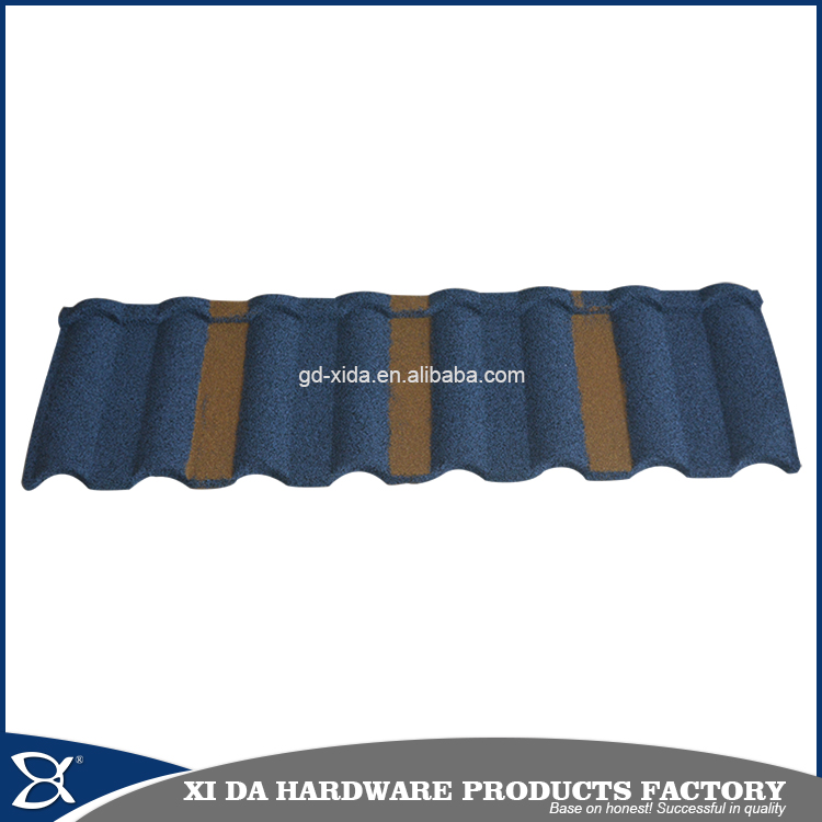 Decorative metal roofs colorful stone-coated metal roof tile